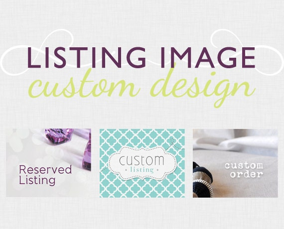 Listing image - Reserved or Custom listing placeholder  - Package, Sale or Promotion graphic