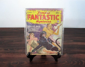 Vintage Dec. 1943 Famous Fantastic Mysteries / Fictional Magazine