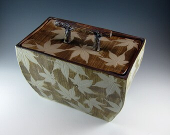 Ceramic Boxes With Lids
