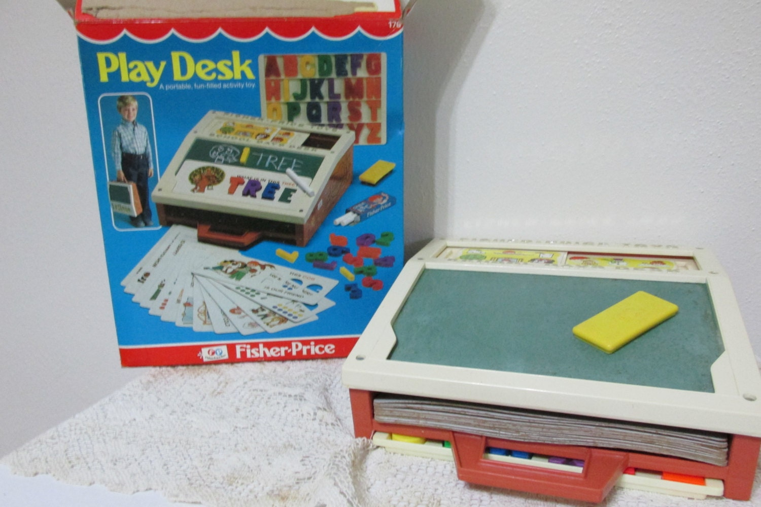 Fisher Price Play Desk 1981