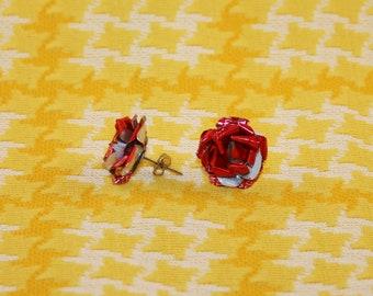 Wild Rose Redneck Soda Can Earrings