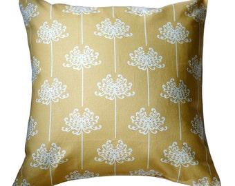 Organic Pillow Cover - Mum Mustard
