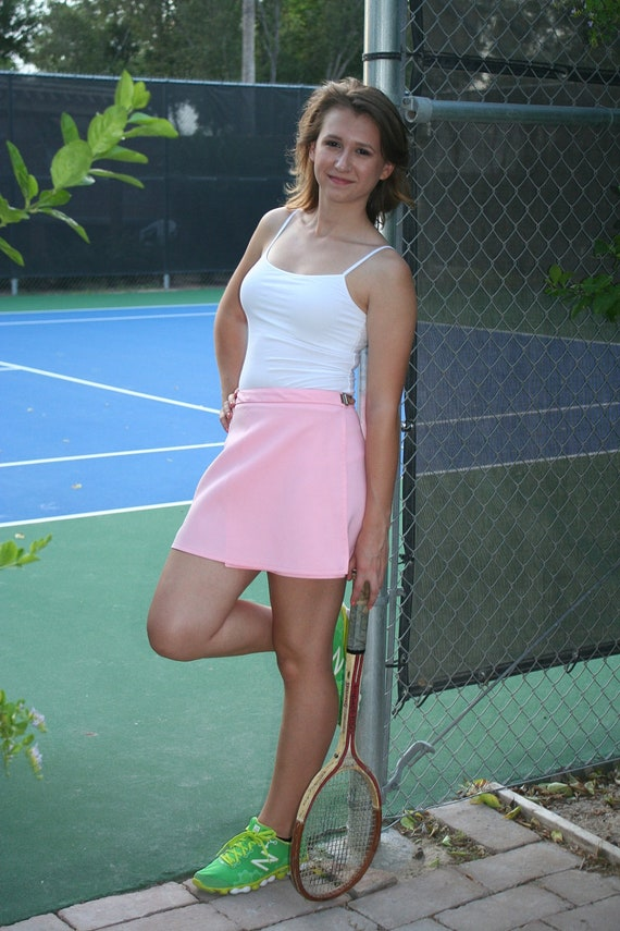 Grand Slam Pastel Pink Tennis Skirt by HEAD by CallMeChula