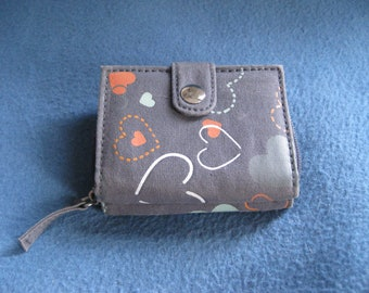 Vintage, 90s, Cotton Hearts Wallet