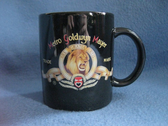 Vintage, Metro Goldwyn Mayer, MGM Movies, Mug