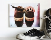 Giant Coaster and Retro Converse Wall Art - Converse All Star Photography
