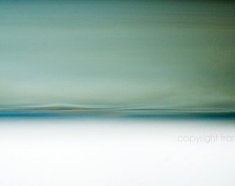 Turquoise, Abstract Landscape Photo, coastal wall art,  Fine Art Photo, Beach Photo, abstract giclee, abstract art, teal, oceanscape, unique