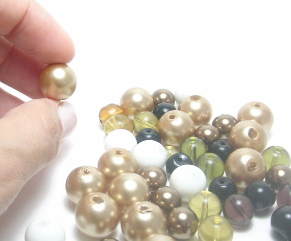 Crystal Beads Random Selection Crystal Pearls