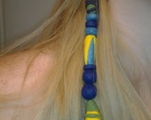 Final Fantasy X Yuna Hair Wrap/ Earring Cosplay Accessory