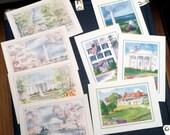 Vintage Washington, D.C. Notecard Set (4)