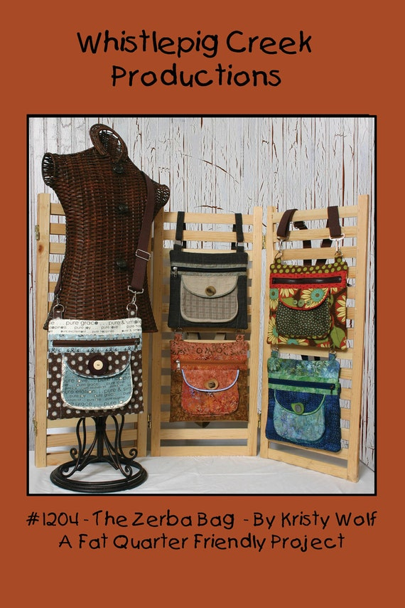 PDF - The Zerba Bag Sewing Pattern