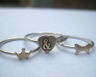 Stacker Charm Ring