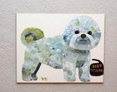 Dog (original painting on board)