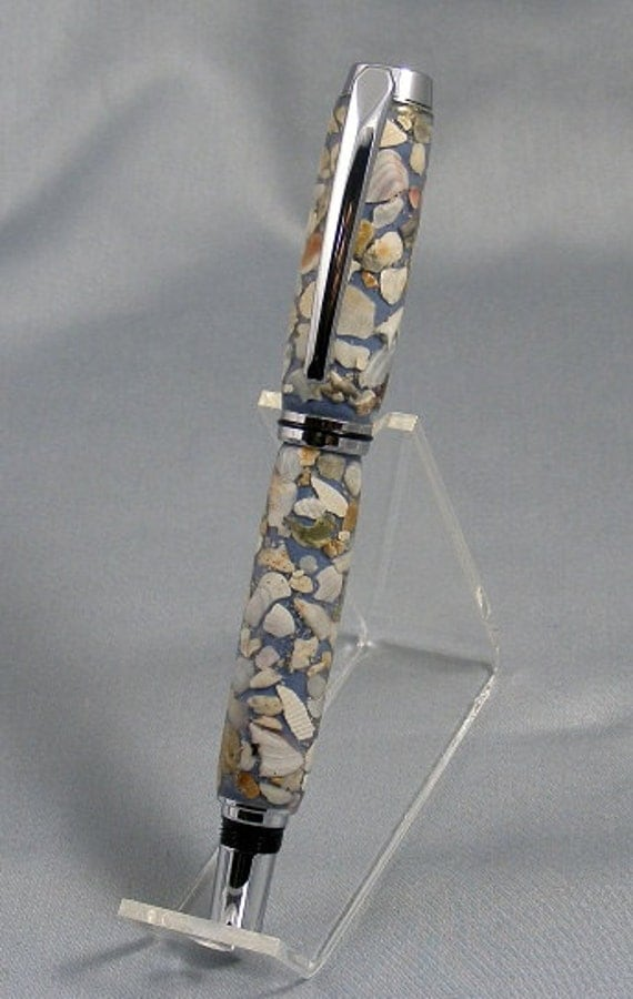 Hand Cast Sea Shell Rollerball