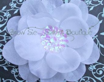 Choose your Color Sequin Center Flower