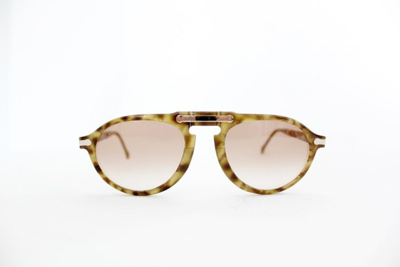 Vintage glasses / Hugo Boss by Carrera 5153 rare folding sunglasses