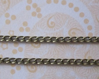 CLEARANCE SALE - Chain Antique Bronze DaintyTwist Chain (5)