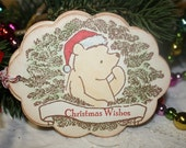 Winnie the Pooh Christmas Gift Tags - Christmas Wishes