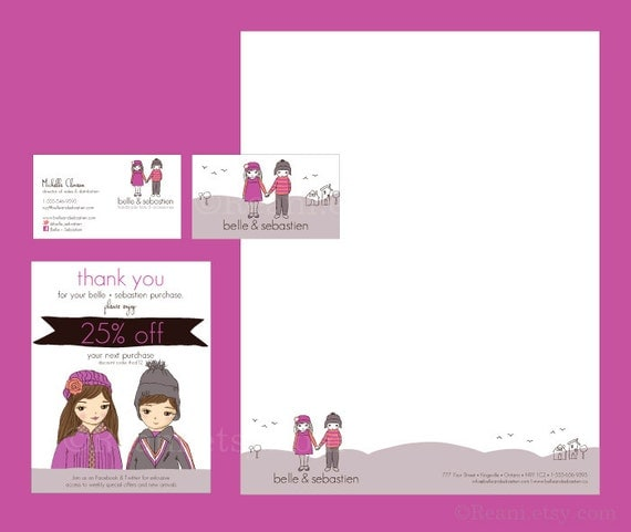 Logo and Etsy Branding Package - Reserved Listing for Leandra