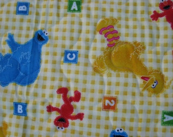 Cookie Monster Flannel Quilt