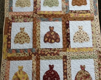 9 Little Dresses Quilt