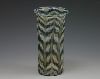 Hand Blown Shot Glass - Lampwork Handblown Vase -Bud Vase