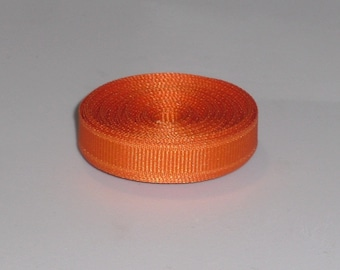 10 Yards Pumpkin Pie 3/8 inch Grosgrain Ribbon