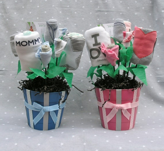 Unique Baby Shower Gift Ideas Clothes : Items similar to twin baby gift for boy and girl unique