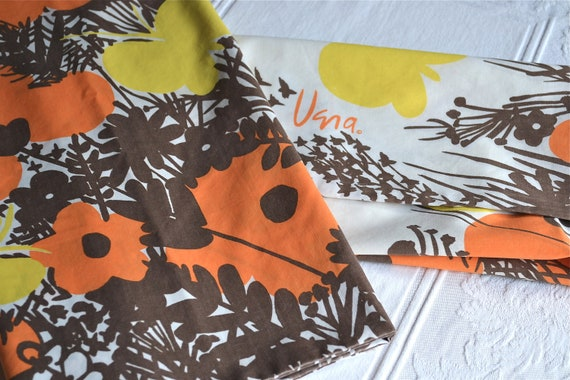 Vintage Vera Pillowcases - Autumn Butterfly - Standard Size Pair