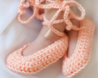 Ballet Slippers, Baby Ballet Booties, Ballet Baby Shower