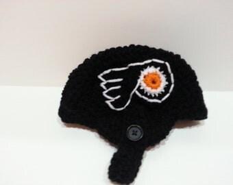 Baby Flyers Helmet. NHL Philadelphia Flyers, Baby Shower