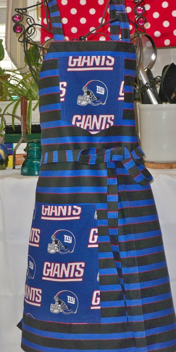 NFL New York Giants Football Super Bowl Champs BBQ Full Apron