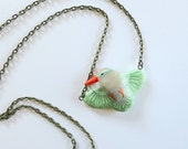 Kingfisher necklace