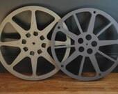 Two Vintage Film Reels