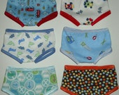 Waldorf Doll Clothes Boys Briefs Underwear -- You CHOOSE ONE Pair -- 15 16 Inch Boy Dolls