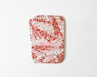 Cherry Blossom Chiyogami Blank Note Card Set . Birthday . Wedding Invitations . Greeting Cards . no.92