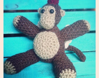 Crocheted Flying Monkey