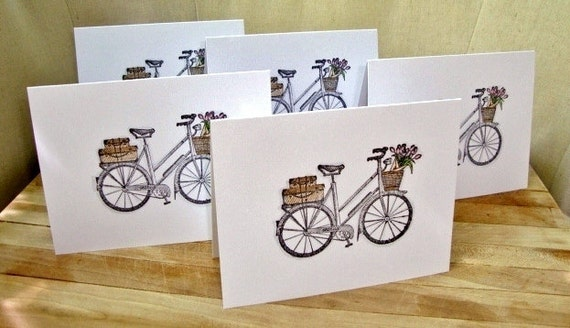 Bicycle Note Card Set