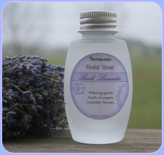 Organic Lavender Facial Toner all skin types including oily problem 50 ml