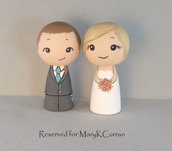 Reserved for MaryKCurran Wedding Cake Toppers