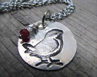 Born to fly ... Silver Bird Pendant