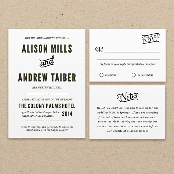 printable wedding invitation template instant download nightlife