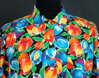 Vintage BLOUSE, GAP, 1980s