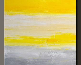 Daybreak - 24 x 24 - Abstract Acrylic Painting - Contemporary Wall Art