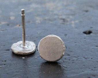 Sterling Silver Earrings / Round Silver Earrings / Post Earrings / Sterling Silver Small Earrings / Silver Basic Earrings / Silver Studs