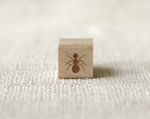 Rubber Stamp - Ant