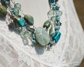 Beaches and High Plains Multi-Strand Necklace