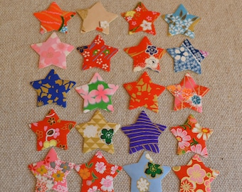 Japanese Washi Star Stickers (Set of 20)