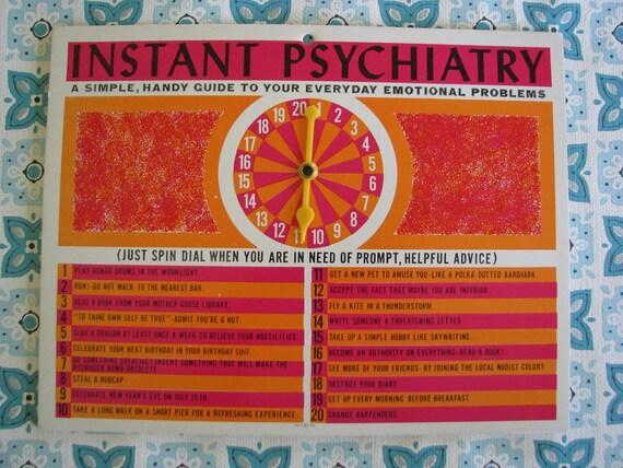FUN Instant Psychiatry Card Spinner