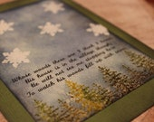 """Holiday """"Robert Frost"""" Cards-- TWO PACK"""